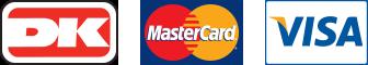 Dankort - MasterCard - VISA